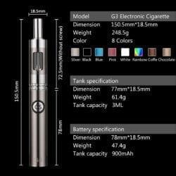 GS-3 Deluxe Vapor Pen