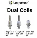 KangerTech Dual Coil Atomizers Versions 1-3