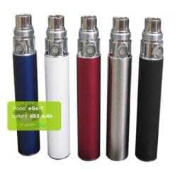 ego-t battery 5 colors