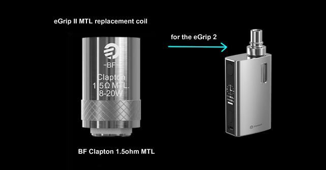 egrip 2 - 1.5ohm clapton coils